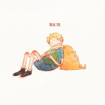 "finn the human | Tumblr ""break time"" bh tinnim2"