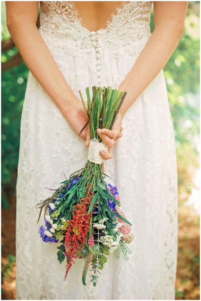 wedding flowers - bohemian wedding Toronto - Melissa Avey Photography