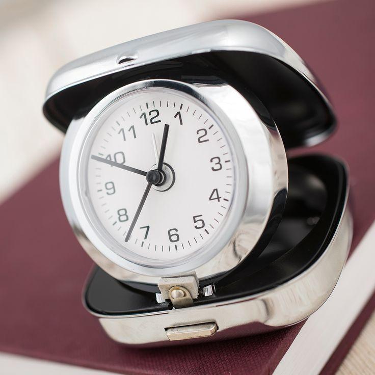 Engraved Travel Alarm Clock   GettingPersonal.co.uk