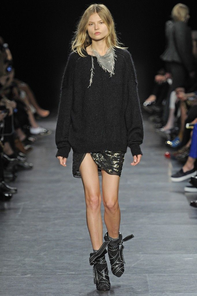 Isabel Marant RTW Fall 2014 - Slideshow - Runway, Fashion Week, Fashion Shows, Reviews and Fashion Images - WWD.com