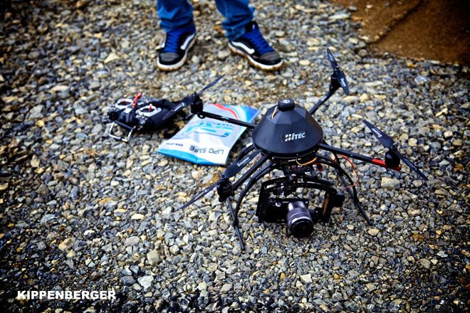 New Drone Cuts Cost of Aerial Video