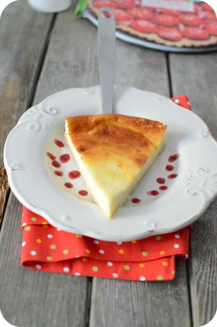 Tarte au fromage blanc et au citron