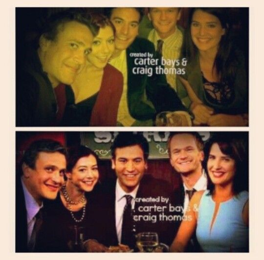 HIMYM Finale they're all just amazing people. I miss this show so much.