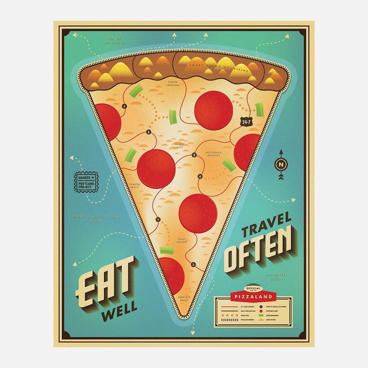 Eat Pizza Travel Often