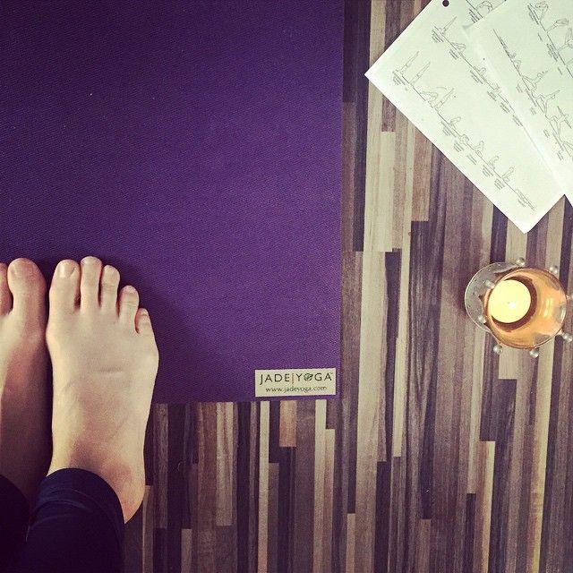 Susanne Unghagen @unghagen Morgonyoga på nya...Instagram photo | Websta (Webstagram)