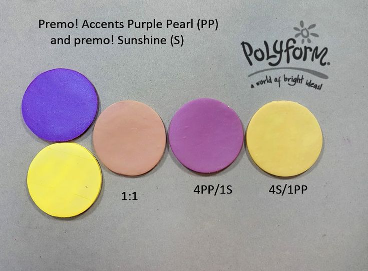 185 best Polymer clay colour recipes Premo only images on Pinterest ...