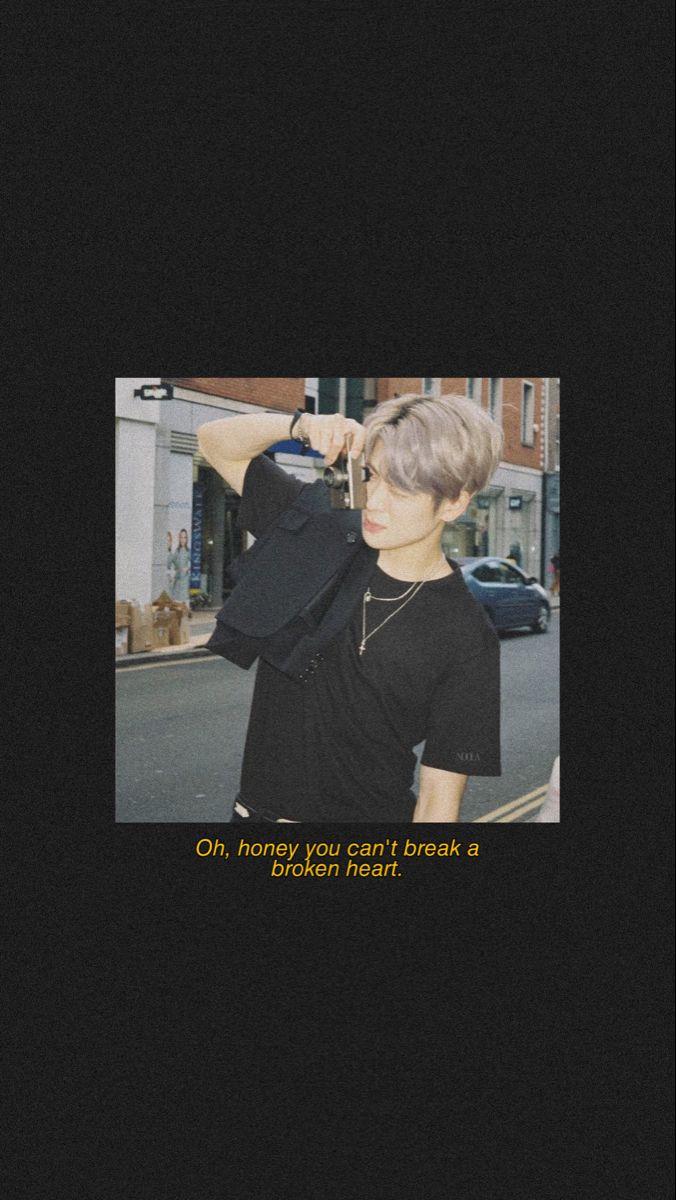 jaehyun nct aesthetic dark iphone wallpaper 🖤 di 2020 ...