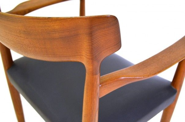 Mid Century Office Chair by Knud Færch for Slagelse Møbelværk, 1960s 7