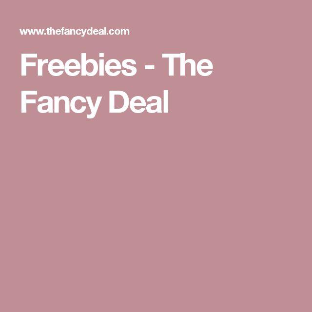 Freebies - The Fancy Deal