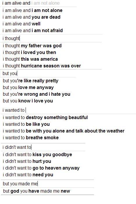 google poem !
