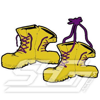 Q Dogs Fraternity GOLD BOOTS PATCH Item ...