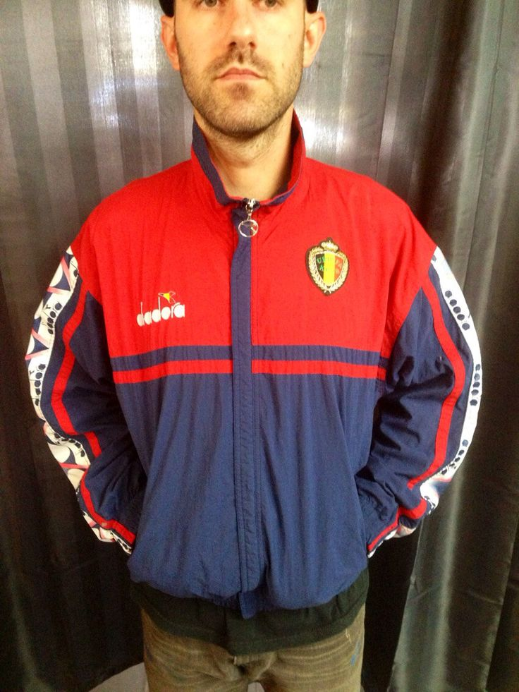 Diadora casual style soccer track jacket by Therichesofthepoor on Etsy https://www.etsy.com/listing/157406014/diadora-casual-style-soccer-track-jacket