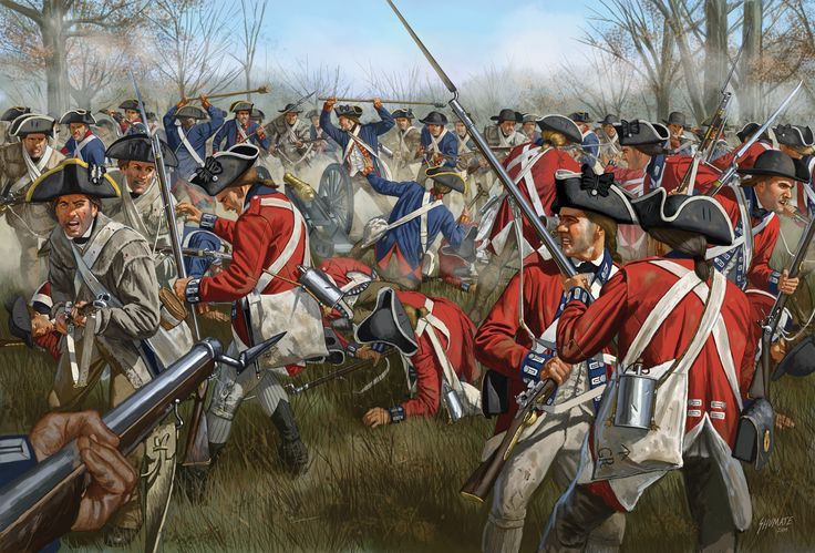 Battle Of Cowpens 1781 By Johnny Shumate Copyright
