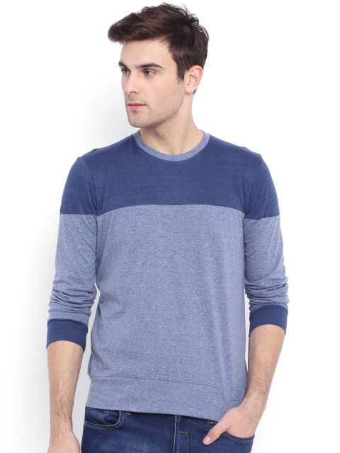 Buy Campus Sutra Blue T Shirt - Tshirts for Men | Myntra