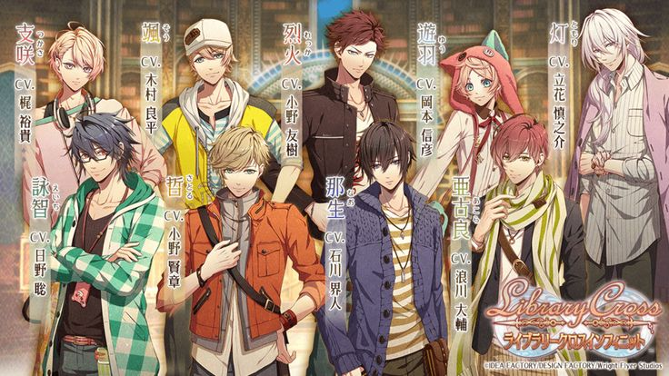 Otomate's Library Cross Infinite Puzzle RPG App Gets TV Anime - News - Anime News Network