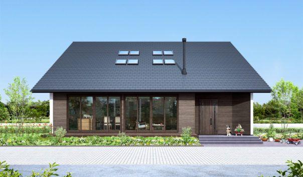 平屋の新築注文住宅 フラップ Flap 平屋外観 平屋 外観 デザイン