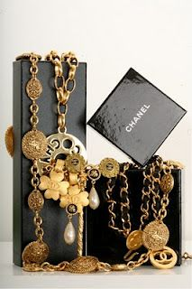 Chanel Vintage Accessories --aaaagh!  I love them and I wish I could afford them!