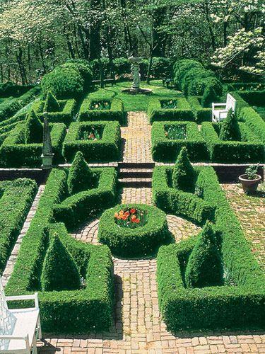 35 best Box hedging images on Pinterest Formal gardens Front