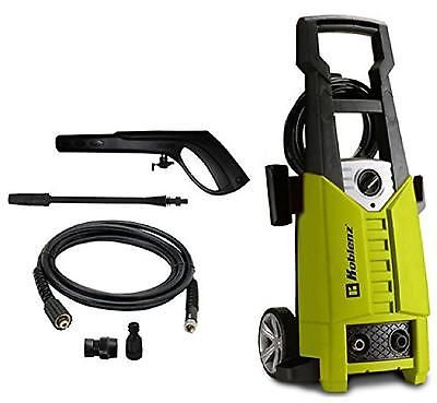 Electric Pressure Washer Hose Reel 2000 Psi Burst Cleaner Outdoor Patio Clean