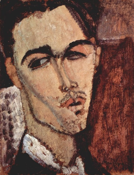 Amedeo Modigliani - Ritratto di Celso Lagar Collezione Privata