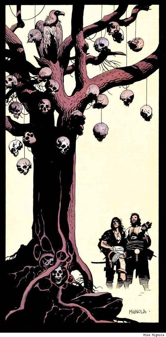 Fafhrd and Gray Mouser | Mike Mignola