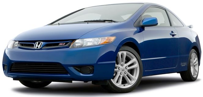 Honda Civic Coupe 2010 - very similar to my car :)