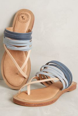 Love these strappy sandals