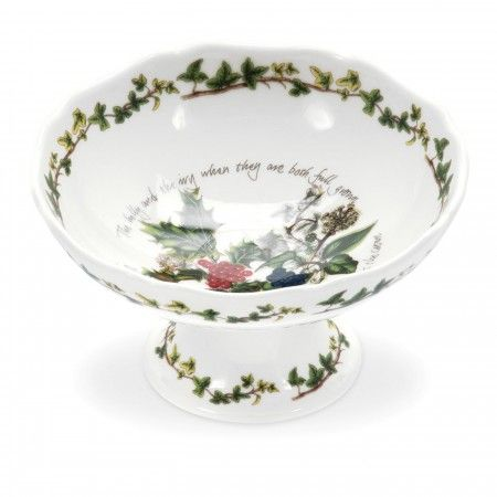 Portmeirion The Holly and The Ivy Scalloped Dish - The Holly & The Ivy - Portmeirion UK
