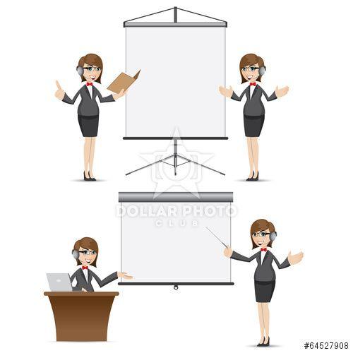 https://cz.dollarphotoclub.com/stock-photo/cartoon businesswoman with presentation board set/64527908 Dollar Photo Club miliony kvalitních obrázků za 1$ za každý