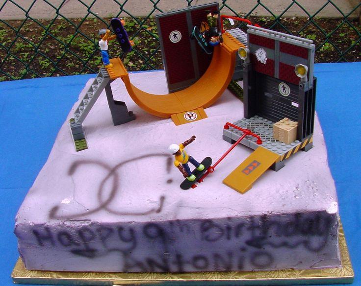 Tech Deck Birthday Cake Google Search Joey Bday Ideas
