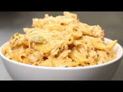 Slow Cooker Cajun Chicken Alfredo-would need to replace with GF penne noodles