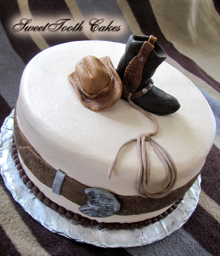 cowboy cakes, birthday cakes, western cakes