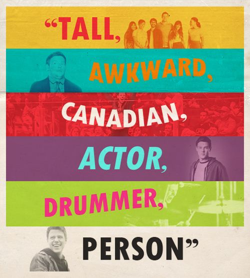 Quote- Cory Monteith :)