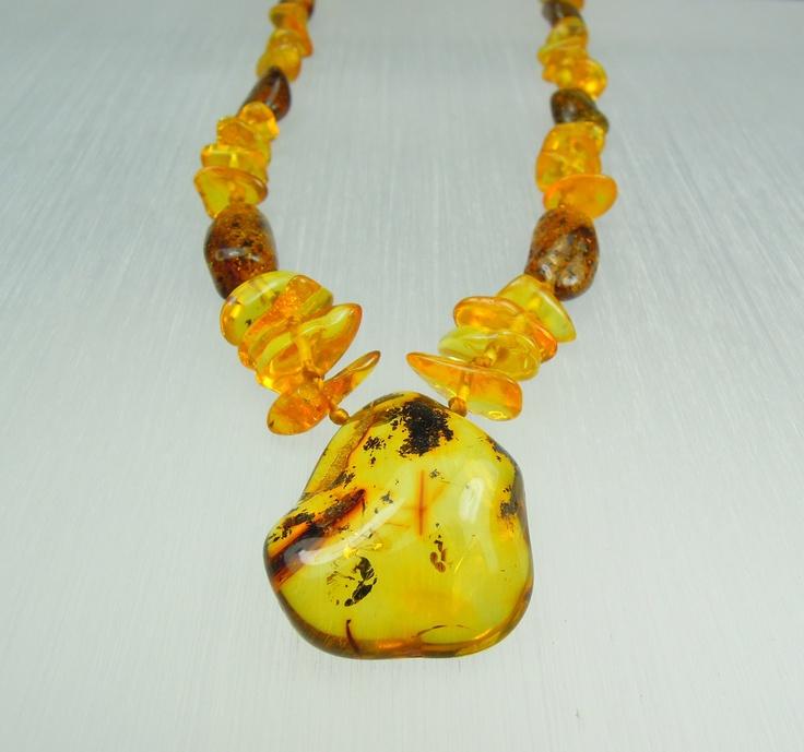 Amber necklace/pendant model