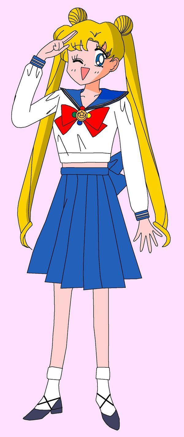 Usagi Tsukino (Crybaby)(14)Middle school 1st Season i was a bit like usagi when i was younger