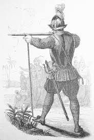 38 – Esta Batalla de Chupas fue el encuentro más sangriento de todas las guerras civiles entre los conquistadores del Perú. Almagro confiaba en su poderosa artillería de 17 cañones, que estaba a cargo de Pedro de Candía, pero como sus disparos erraban mucho, sospechó una traición y mató a lanzazos a Candía.