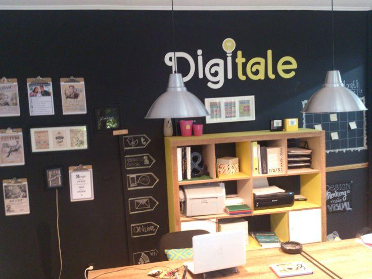 social media office design