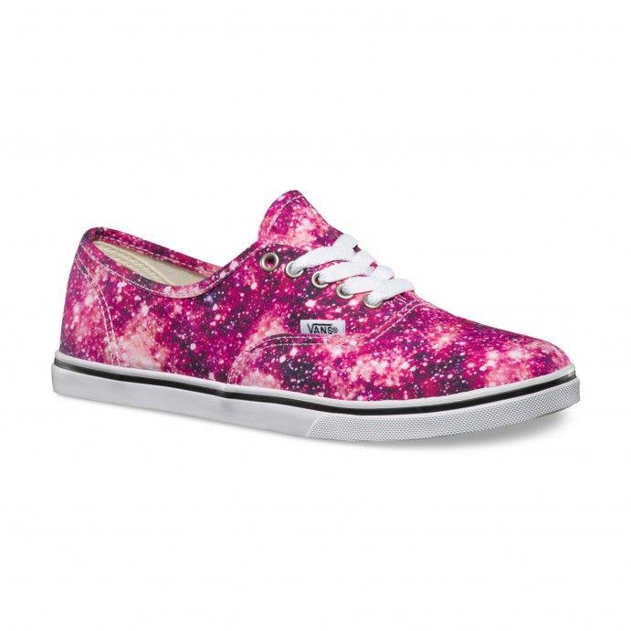 Vans Cosmic Cloud Authentic Lo Pro Shoes (Cosmic Cloud) Black/Coral - Vans Europe Official Site