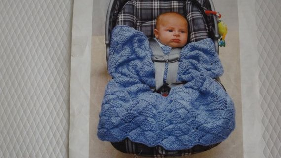 car seat cover by TricotsDiahn on Etsy