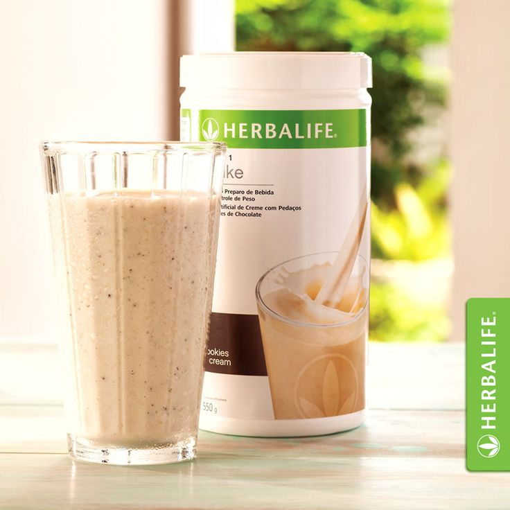 Another way to make a Herbalife shake! Replace ice with
