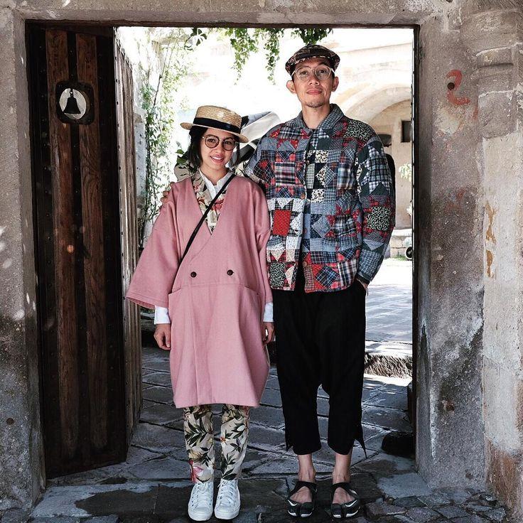 """Mr. and Mrs. @cyclonesia are ready to explore! ☀️ #AndienTurkeyTrip #AndienTrips @Dwidaya_Tour #MerhabaTurkey @andienippestory"""