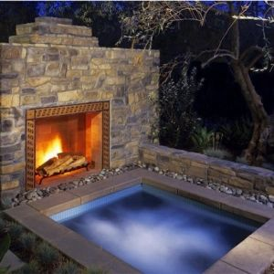in ground hot tub - Google Search