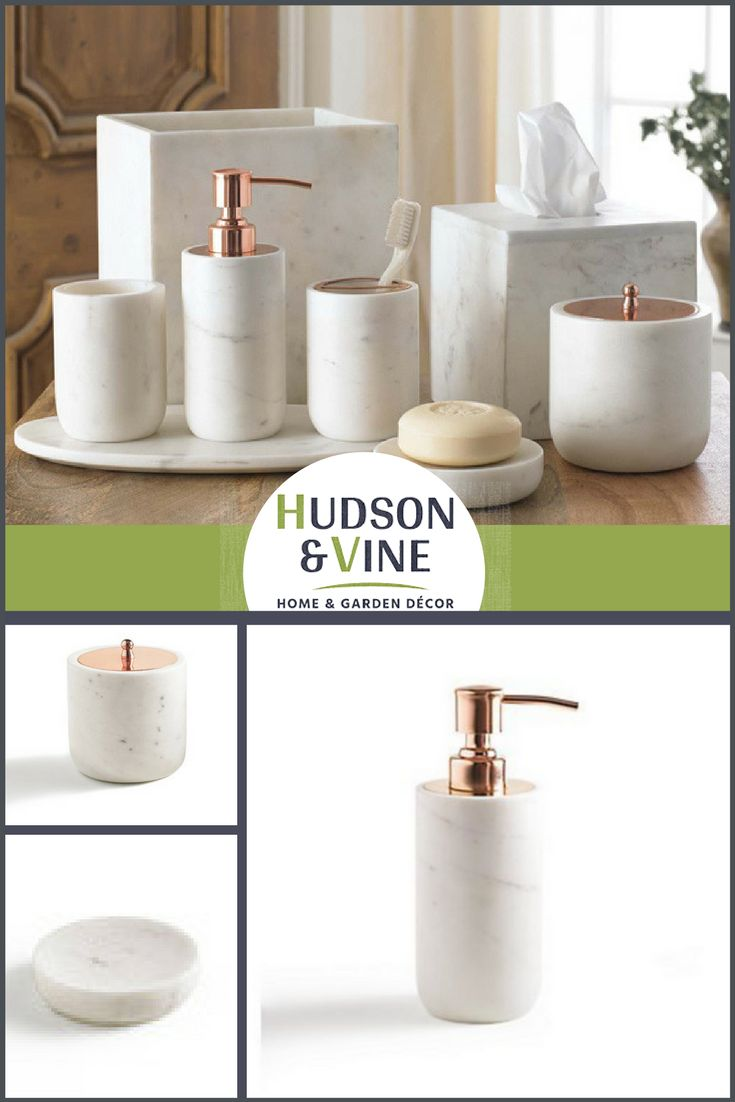 Copper Bathroom Accessories Sets 17 Best Ideas About Marble Bathroom Accessories On Pinterest