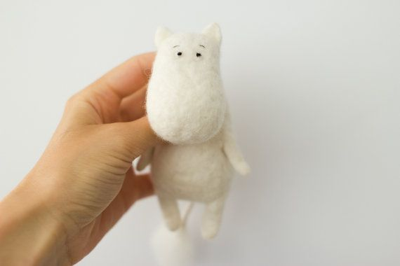 the Moomin troll by totootse on Etsy