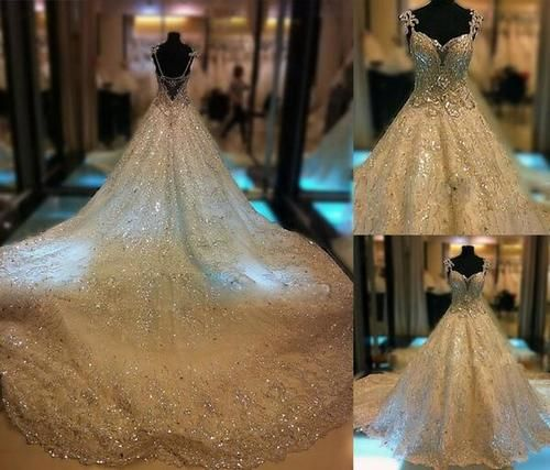 28 best Extravagant Wedding Dresses images on Pinterest | Marriage ...