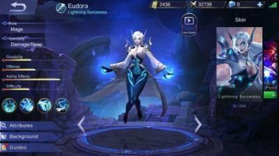 Eudora Mobile Legends