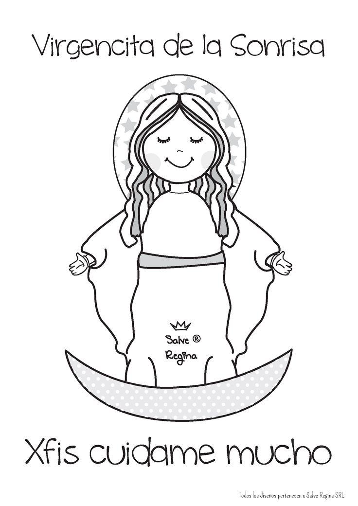 Virgen de la Sonrisa .