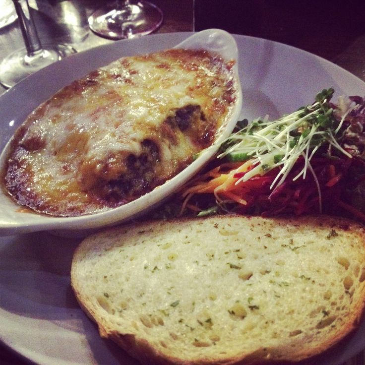 Haggis lasagne - random combo but very tasty!