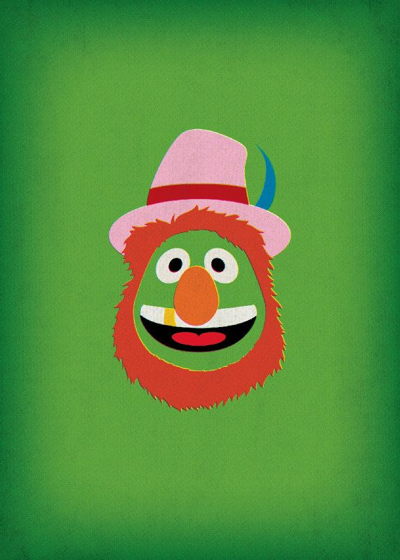 The Muppet Show Dr Teeth Electric Mayhem Minimalist by TheRetroInc