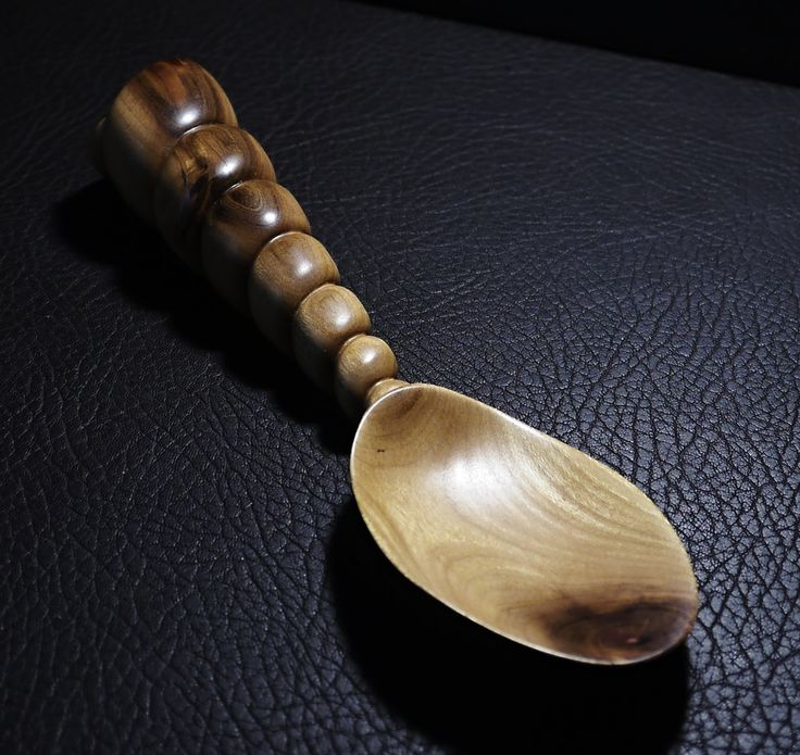 """""""GILI"""" - Original hand carved wooden spoon from Plum wood"""